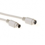 Keyboard/mouse Extension Cable Ps/2 Male - Ps/2 Female Ivory 3m