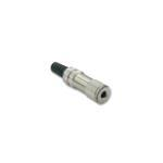 Female Connector 3.5mm Metal Female Type Stereo